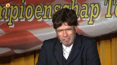 Andy Marcelissen als nieuwslezer