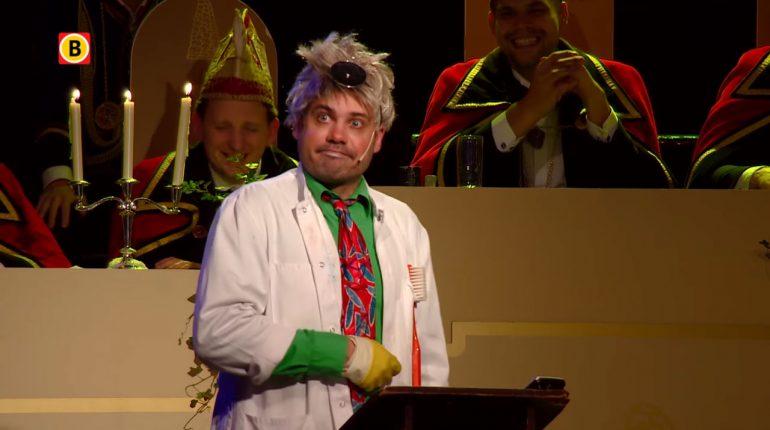 Dirk Kouwenberg als De Tandarts